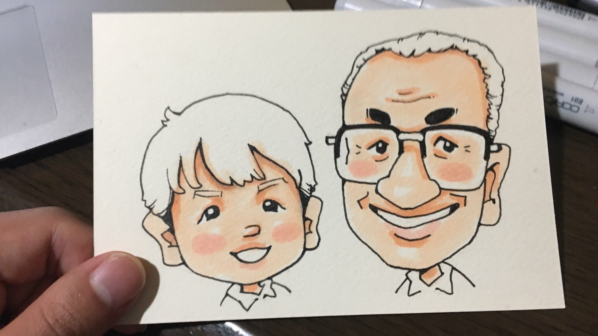 プロが教えるコピックを使った似顔絵の描き方 肌色は何を使えば良いのか やすしの似顔絵研究所